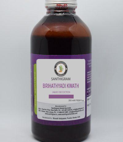 3. BRUHATHYADI KASHAYAM