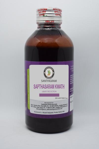 SAPTHASARAM KASHAYAM